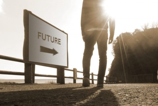 未来へ歩む