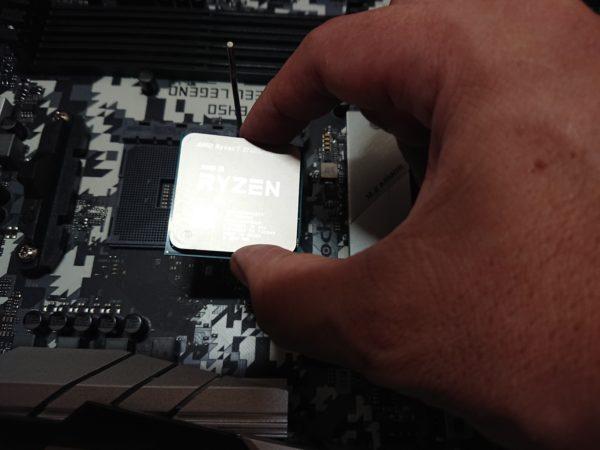 CPUを置く