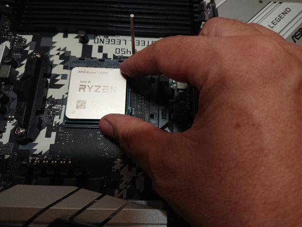 CPU着地