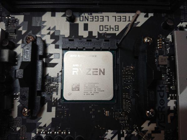 CPU着地完了