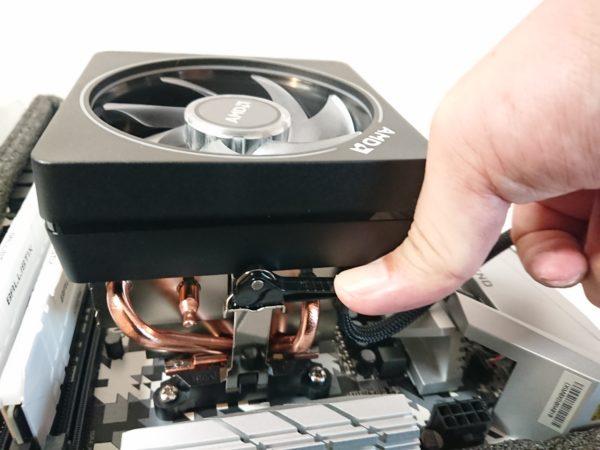 CPUクーラー設置5