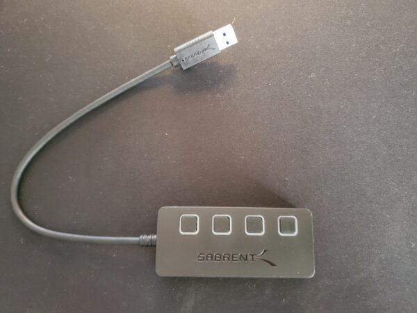 USBハブ取り出し