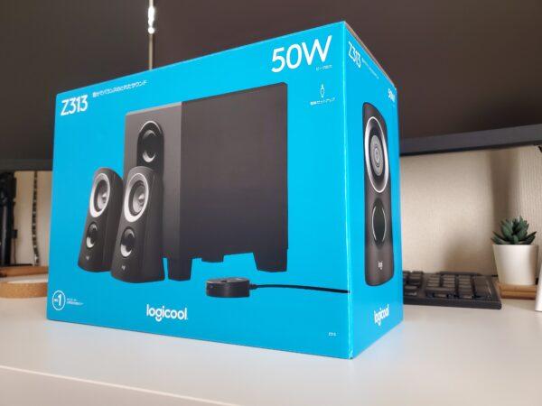 LogicoolZ313外箱